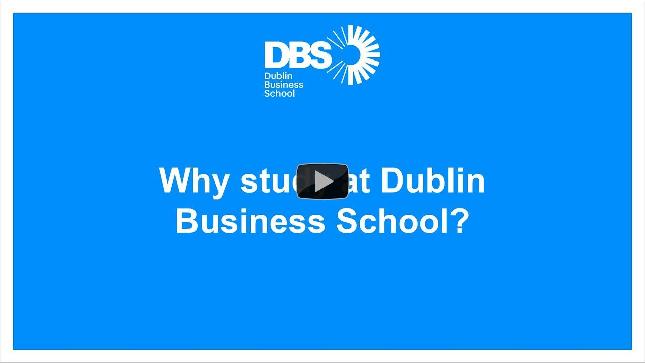 Why study at Dublin Business School?